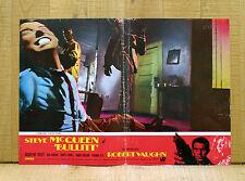 BULLITT fotobusta poster Yates Steve McQueen Bisset Roger Vaughn Duvall AS46