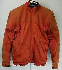 Arcteryx Womens Jacket Size XS Orange Zip-up Long Sleeve