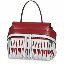 Tod's - Tod's Mini Wave Bag RED/White