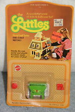 1980 Mattel THE LITTLES Die Cast Metal DROP LEAF TABLE  New NRFB