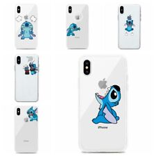 Cartoon Stitch Soft Slim Clear Case Cover for iPhone 11 Pro Xs Max XR 7/8 Plus
