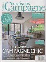 maisons de Campagne No 112 May/June 2018 Nos ambiances campagne chic in FRENCH