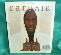 Michael Jordan 2 Books Rare Air & I Can't Accept Not Trying Chicago Bulls Sealed