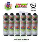 Pro Range Car Body Schutz x 12 Black Underseal 1 Litre Underbody Coating