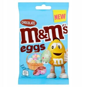 M&M's Speckled Easter Eggs Edition Chocolate Dragee Candy Sweets Treats Bag 80g