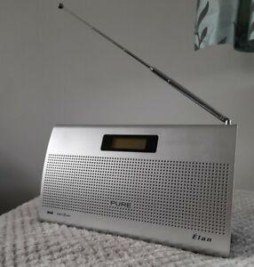 Pure Elan DAB Digital Radio Working