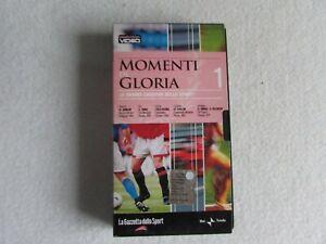 VHS Videocassetta Momenti di gloria 1 La Gazzetta dello sport Tomba Cipollini