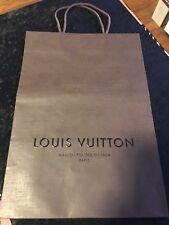 Louis Vuitton Paper Shopping Bags for Medium Leather Goods 8x2x11