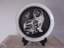 'Talk to Me' Kitten's World Collector Plate By Droguett  - #4 in Series 1979