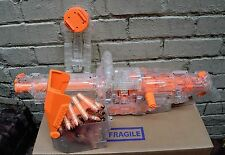 Nerf N-Strike Sonic Vulcan Machine Gun Ammo 25 Darts Tripod Belt Clear