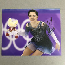 Evgenia Medvedeva Signed Autographed 8x10 Photo Russia Olympics with PROOF -C