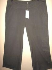 Straight Leg Regular Size 100% Cotton Pants for Women