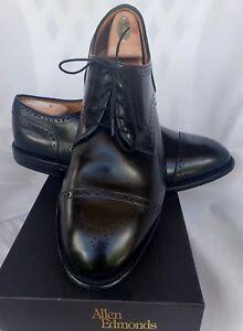 Allen Edmonds Colton Black Oxford Dress Shoe 12 EEE