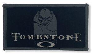 "Oakley Men's SI Tombstone Hat Cap Jacket Backpack Patch, 2"" x 3.5"""