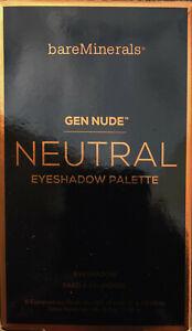 bareMinerals GEN NUDE Neutral Eyeshadow Palettes  6.6 g / 0.18 oz