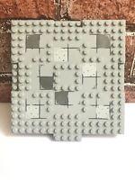 Lego Base Plate Building Board 16 x 16 Studs Light Grey Gray - Genuine (15623).