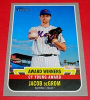 2019 Topps Heritage High Award Winners #AW-4 Jacob DeGrom New York Mets Cy Young