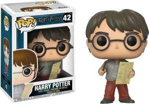 Funko Pop Movies Potter-Harry With Marauders Map Vinyl Figure 42 #14936 NEW