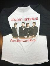 VTG 80s 1984 Golden Earring Baseball Style Concert Tour T-Shirt Prog Rock Psych