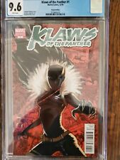 KLAWS OF THE PANTHER  #1 CGC 9.6 - Stephanie Hans 1:10 Shuri Variant 2010