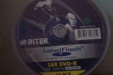 Ritek Labelflash DVD Rohlinge +R 16X 4.7G 10 Pack