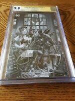 Batman Who Laughs Grim Knight 1 CGC 9.8 NM Mint SS Scott Snyder Jay Anacleto B&W