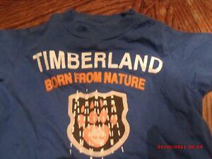 *INFANT  BOY TIMBERLAND SHIRT 6-9 MONTHS