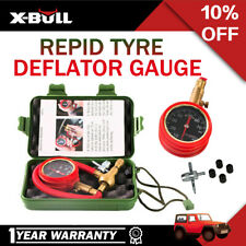 X-BULL Tyre Deflator Tire Air Deflators Rapid With Pressure Gauge Valve Tool 4WD