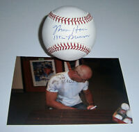 BREWERS Moose Haas signed baseball w/ 1982 Brewers AUTO Autographed Milwaukee