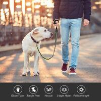 Soft Bungee Dog Leash - Handle Dog Leash with Reflective Elastic Flexible Tape