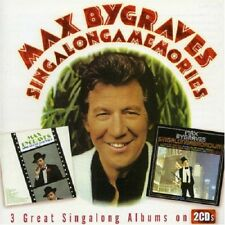 MAX BYGRAVES - SINGALONGAMEMORIES 2 CD NEUF