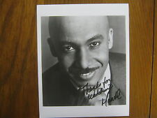 MONTEL   WILLIAMS   Signed   8 x 10  Glossy   Black  and  White  Photo