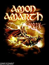 AMON AMARTH cd lgo Deceiver of the Gods THOR TOUR Official SHIRT SMALL New oop