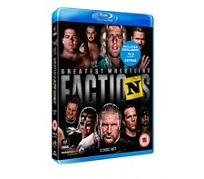 Official WWE Presents - Greatest Wrestling Factions Blu-Ray - 2 disc