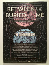BETWEEN THE BURIED AND ME Australian 2013 Tour Poster A2 & Future Sequence **NEW