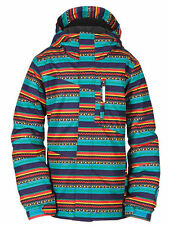 Bonfire HAZEL RIKRAK Girls Youth Snowboard Ski Jacket  Medium Splash NEW