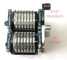 "New 1/4"" Rotary Straight Backwards Numbering Machine for Heidelberg MO Press"