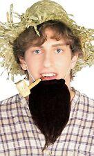 Farmer Beard Black Chin Beard Amish Historical Costume Accessory