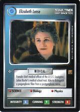 STAR TREK CCG RULES OF ACQUISITION RARE CARD ELIZABETH LENSE