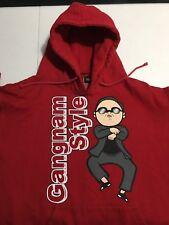 Psy gangnam style Hoodie Sweatshirt Jacket/Coat MENS Korean Rap Rare Large