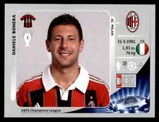 Panini Liga de Campeones 2012-2013 Daniele Bonera Ac Milan Nº 160