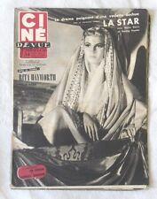 CINE-REVUE 18 septembre 1953 RITA HAYWORTH BETTE DAVIS STERLING HAYDEN HAYWORTH