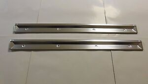 Mopar 69 70 71 72 73 C-Body Chrysler Dodge Plymouth Door Sill Scuff Plates NEW