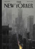 The New Yorker Magazine Nick Drnaso Cartoons Making Big Decisions Gerard Richter