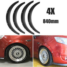 4X 840mm Universal Flexible Car Fender Flares Extra Wide Body Wheel Arches Kit