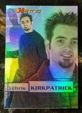 2000 Topps *NSYNC Card - Rainbow Prism Chase Card 2 of 10 Chris Kirkpatrick