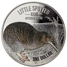 1 $ Dollar Little Spotted Kiwi Neuseeland  2018 1 oz Unze Silber Silver PP Proof