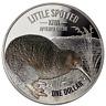 1$ Dollaro Little Macchiato Kiwi Nuova Zelanda 2018 1 Oncia oz Argento Silver Pp