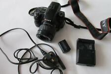 Sony Alpha a37 16.1MP Digital-SLR SLT Camera/Camcorder + Minotla AF 35-80mm Lens