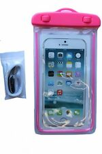CGD Waterproof Cell Phone Case For Smartphones iPhone Androids Color Pink